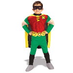 Teen Titans Robin Muscle Chest Deluxe Child Costume 100-138955