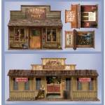 5' Wild West Town Props Wall Add-Ons 101-147648