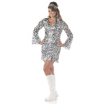 Disco Diva Adult Plus Costume 100-151269
