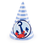 Anchors Aweigh Cone Hats 101-189548