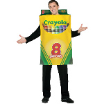 Crayola Crayon Box Adult Costume 100-188541