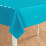 Bermuda Blue (Turquoise) Plastic Tablecover 101-193001