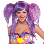 Circus Sweetie Berry Bubbles Wig 100-214259