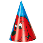 Clifford The Big Red Dog - Cone Hats 101-209092