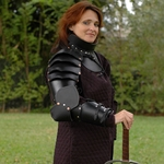 Womens Full Leather Arm Armor BTS-2132-F