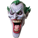 The Joker Deluxe Latex  Adult Costume Mask CU4189
