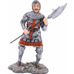English Man at Arms Military Figurine MINKFIG1