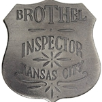 Brothel Inspector Badge OH3004