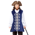 Plus Size Velvet Pirate Vest