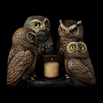 Parliament of Owls Candlelamp