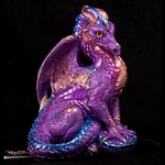Amethyst Male Dragon Sculpture