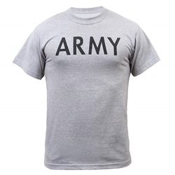 Army Physical Training T-Shirt 10-Army