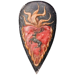 Game of Thrones Shield Pin Stannis Baratheon 286-22-176