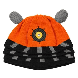 Doctor Who Orange Dalek Beanie Hat