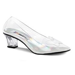 Crystal Glass Slippers - Pair