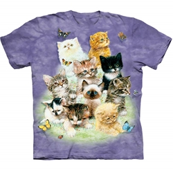 10 Kittens Adult 2X-Large T-Shirt 43-1010800