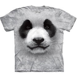 Big Face Panda Adult T-Shirt 43-1035580