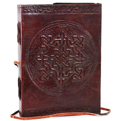Celtic Knot Leather Blank Book 45-BBBCCELN
