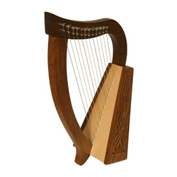 Baby Harp TM, 12 Strings, Knotwork 47-HPBY-K