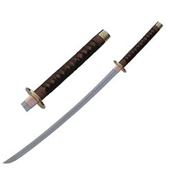 Braided Leather Samurai Katana 62-2027