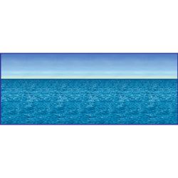 30' Ocean & Sky Backdrop 101-148476
