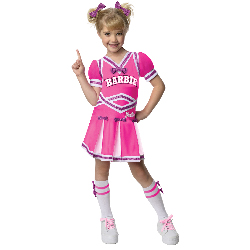Barbie - Cheerleader Toddler/Child Costume 100-218058