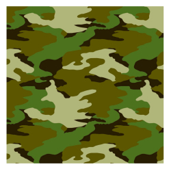 Camouflage Gift Wrap 101-220702