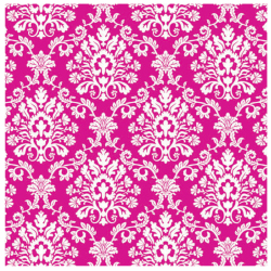 Bright Pink Brocade Jumbo Gift Wrap 16ft 101-220997