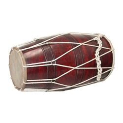 Dholak, Deluxe, Cord and Ring DHDX