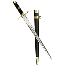 British Naval Dirk with Polished Horn Handle